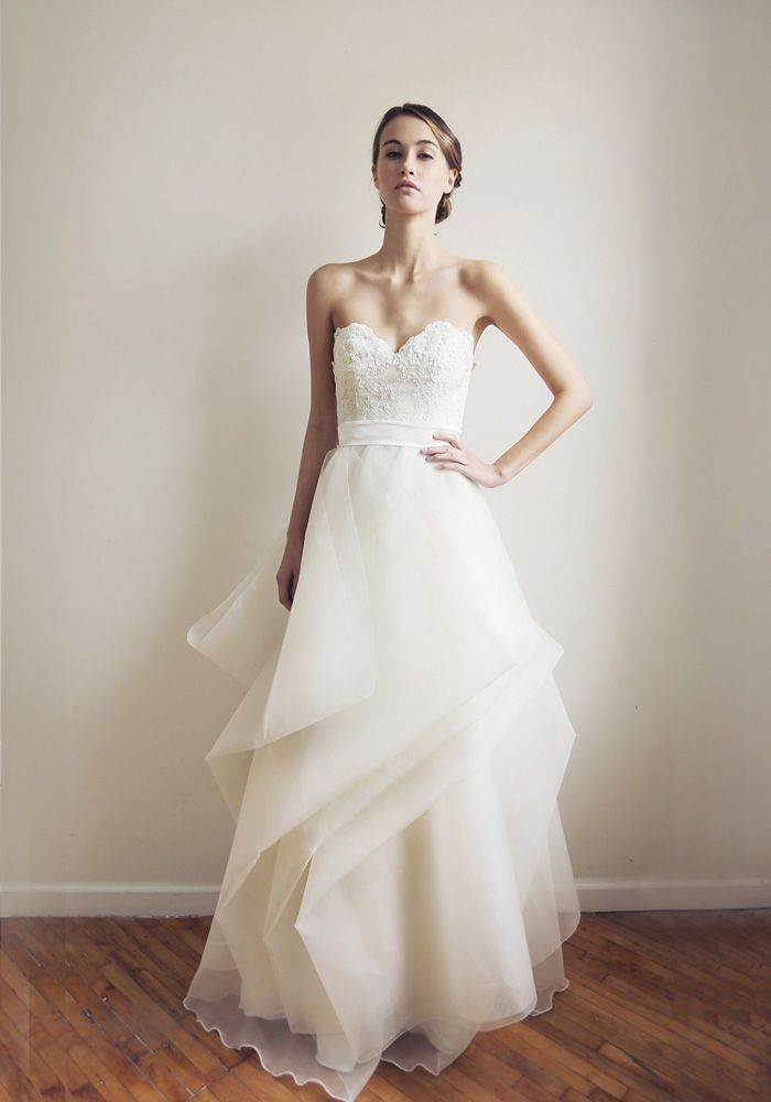 15 best Leanne Marshall Wedding Dresses images on Pinterest | Short ...