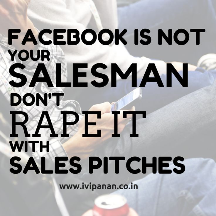 #facebook is not your salesman. #socialmediamarketing #socialmedia #marketing #surat www.ivipanan.co.in @ivipanansurat