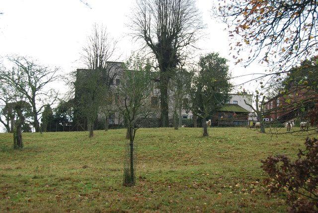 Charnes Hall, Eccleshall, Cheshire.  (Yonge, Chase)