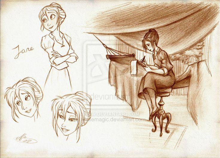 Disney's Tarzan: Jane no.1 by Mallemagic.deviantart.com on @deviantART