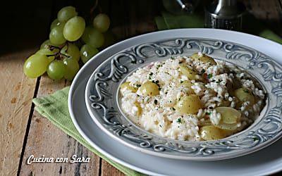Ricetta risotto all'uva - delicato e CREMOSISSIMO!
