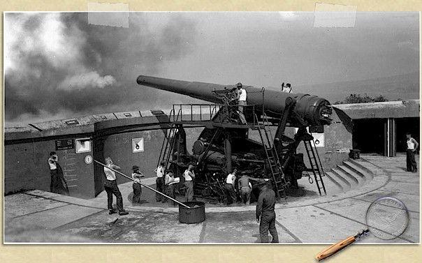 Battery Cheney Gun No. 1