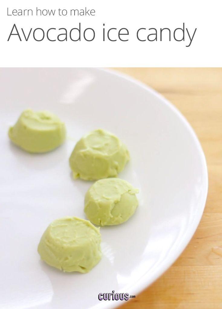How to Make Filipino Avocado Ice Candy