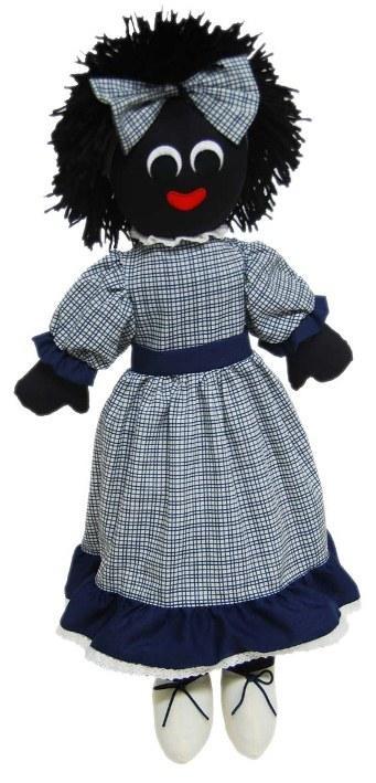 Golliwog / Golly Doll - Amelia (54cm)