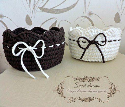 Трикотажная пряжа и товары для рукоделия (Шоколад, Белый)