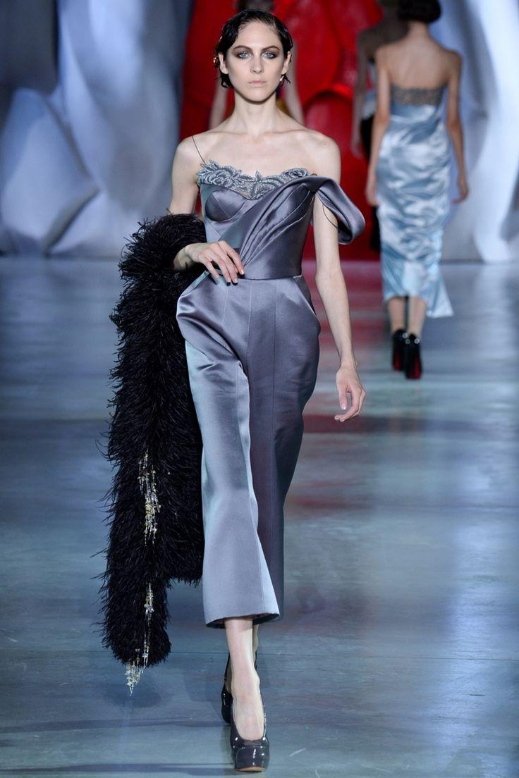 Ulyana Sergeenko   Коллекции осень-зима 2014/2015   Париж   VOGUE