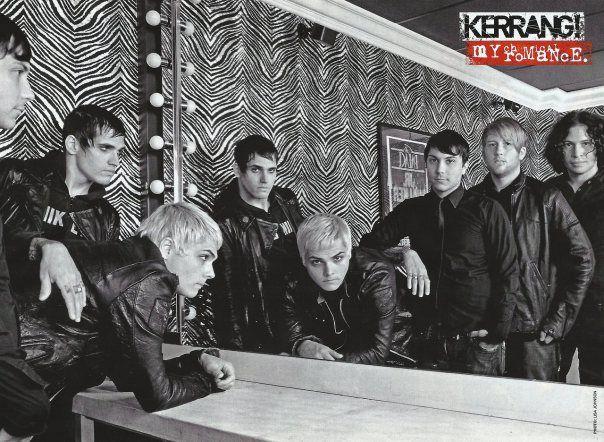 MY CHEMICAL ROMANCE - KERRANG! HEADLINERS ALBUM LYRICS