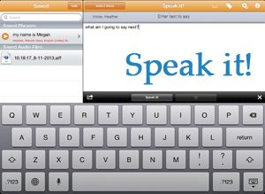 Speaking of Apps : A Comparison of Text to Speech Apps from Megan Sutton