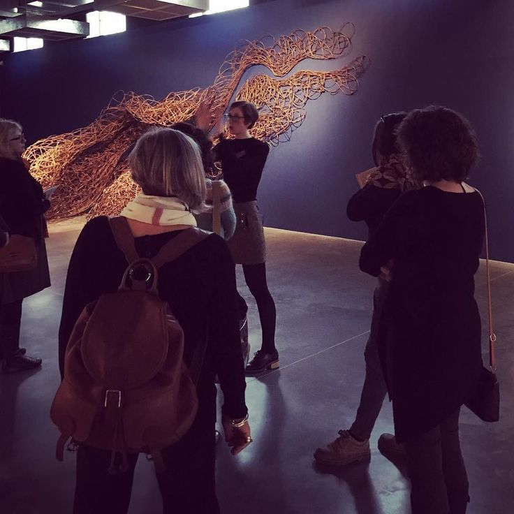 Meet the Curator CPD day at @nationalcraftanddesign - insight into the curatorial process. Here's Head of Exhibitions Bryony Windsor speaking about Lauren Ellen Bacon: Rooted in Instinct #CPD #designfactory #curator #gallery #contemporarycraft #rootedininstinct