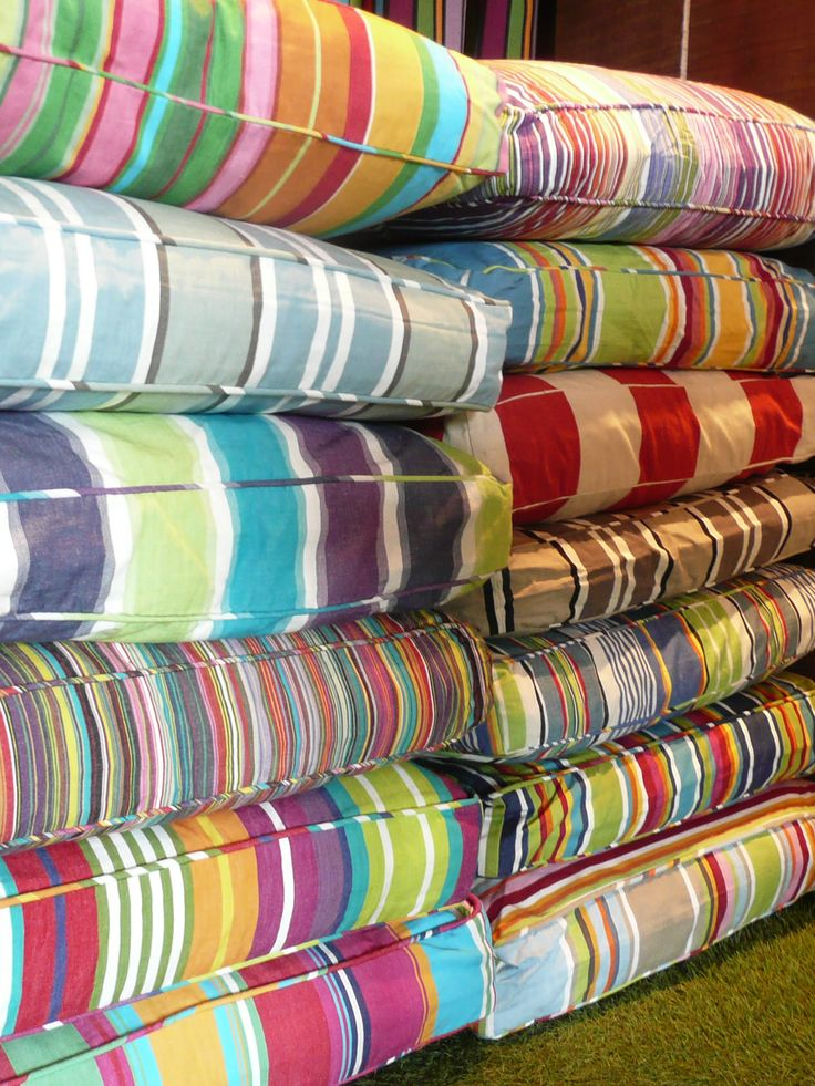 colourful large floor cushions what better way to relax than on one of our comfortable stripes company floor cushions uk