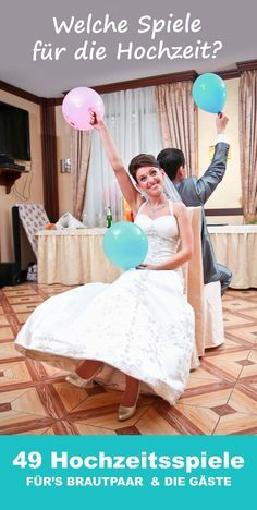 INGENIOUS: The top 50 of the best wedding games with which you conjure up an exuberant mood at every wedding celebration