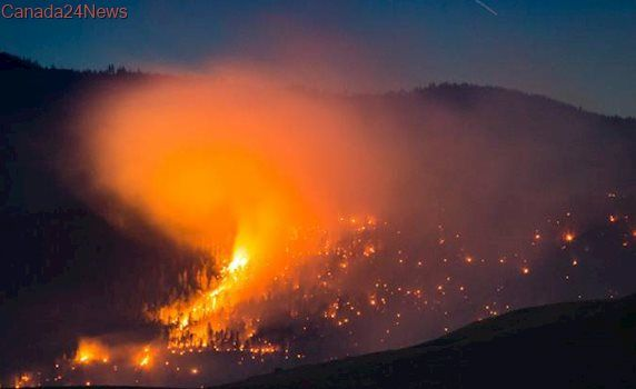 Weather forecast doesn't spell much relief for B.C. wildfires