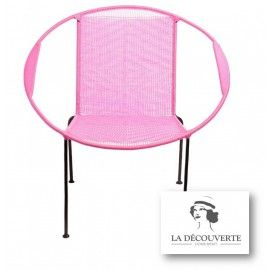FAUTEUIL ROSE 'TOGO'