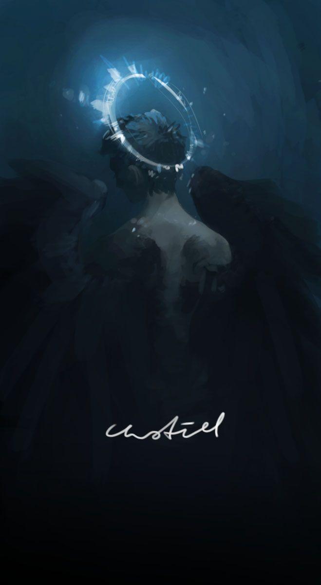 Castiel Concept Art