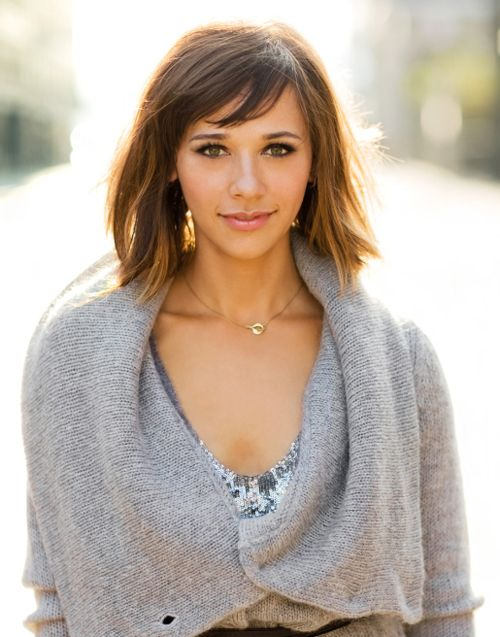 Rashida Jones-love her haircut. This shot is awesome too, the lighting looks great, and she's gorgeous for sure