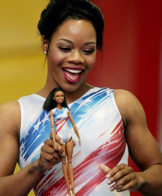 Gabby Douglas Debuts Her Own 'Shero' Barbie Just In Time For The Olympics