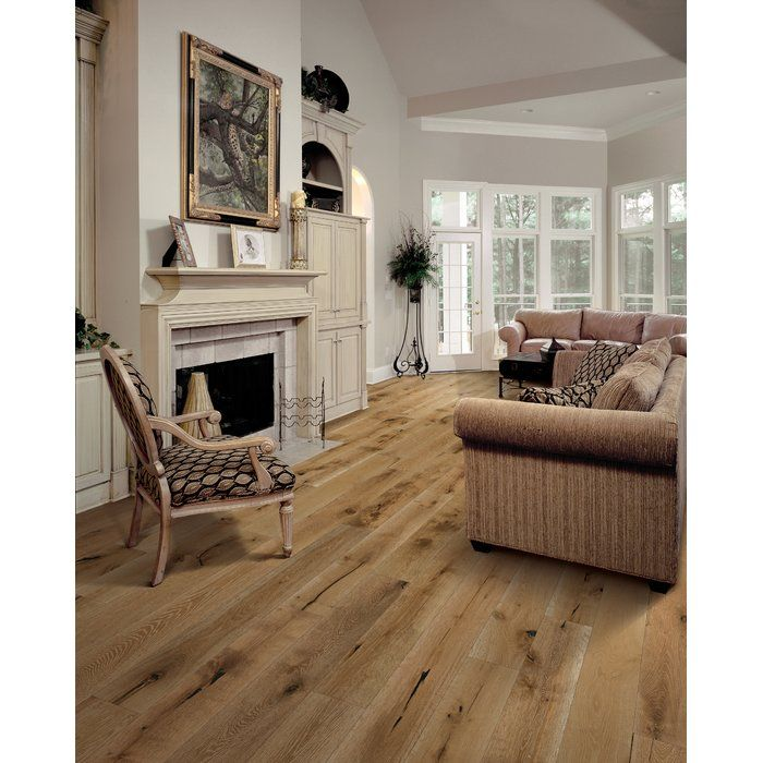 Santorini Oak 1 2 Thick X 7 1 2 Wide X Varying Length Engineered Hardwood Flooring Wood Floors Wide Plank Engineered Wood Floors Engineered Hardwood