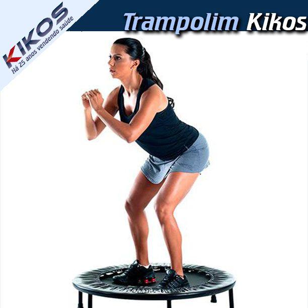 Quando praticamos repetidamente os mesmos exercícios e treinos, acabamos cansando e enjoando de realizar a prática continua. O Trampolim AB 3656 é um equipamento recomendado para uso em academias. Equipado com molas é ideal para a realização de atividades aeróbicas como por exemplo, o Power Jump. Para conhecer mais sobre o Trampolim Kikos e melhorar seu treino diário, acesse a Kikos e conheça nossos produtos. #Kikos #Trampolim #VidaSaudavel