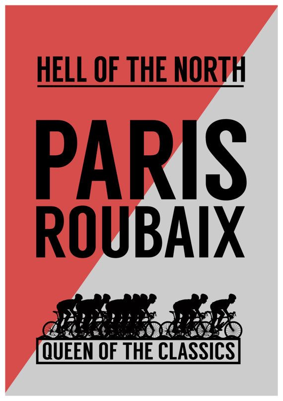 Paris Roubaix by StevieCarnieDesign on Etsy