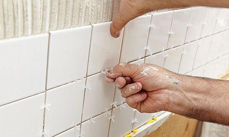 How to tile a kitchen splashback - Bunnings