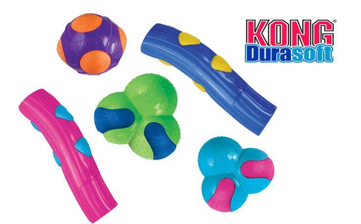 Kong Durasoft new  dog toys / Kong Durasoft nové hračky pro psy