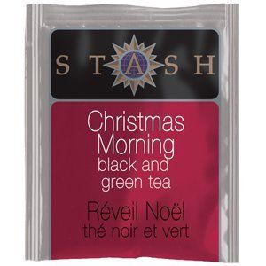 Stash Tea Company Christmas Morning Black Tea : Latte