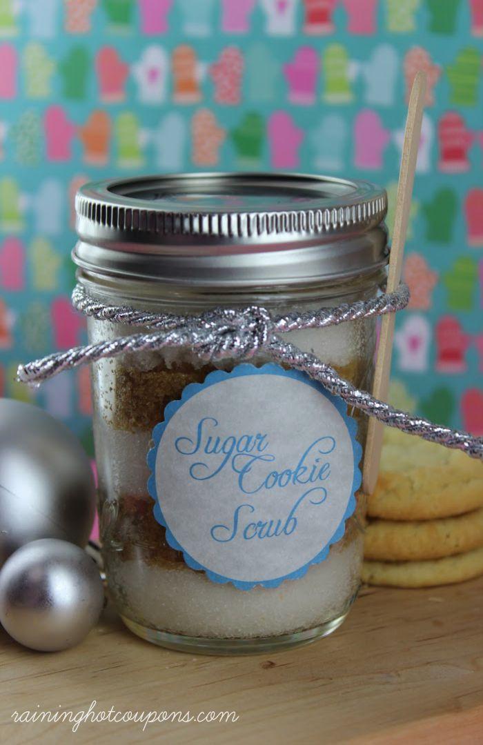 Sugar Cookie Scrub Recipe + FREE Label Printable!
