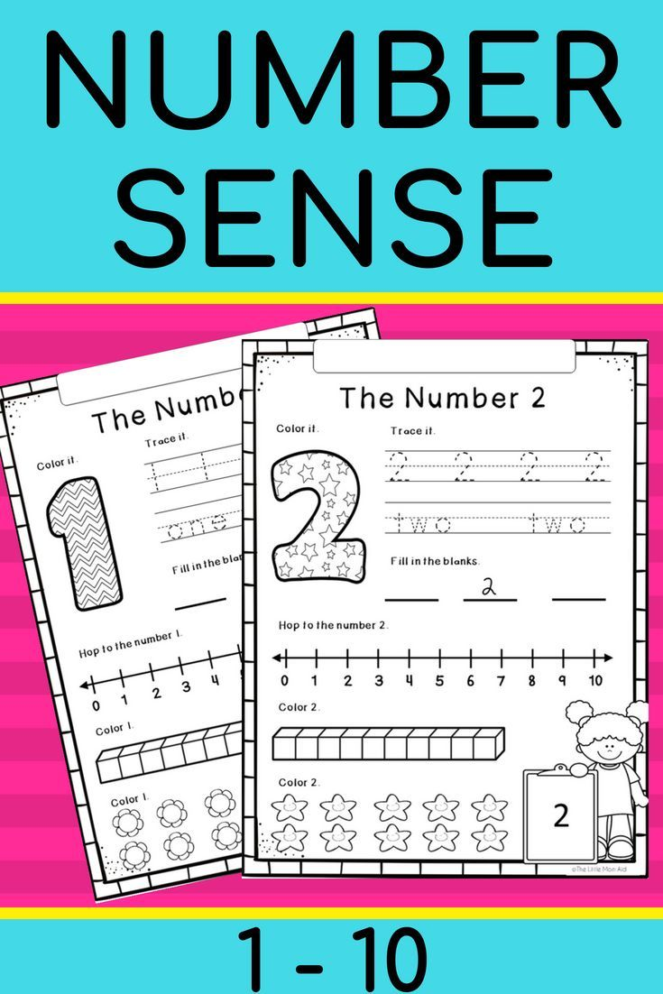 Number Sense Worksheets 1 To 10 There Are 10 Worksheets One For Each Number Between 1 And 10 Inclusively O Teaching Math Number Sense Worksheets Number Sense [ 1102 x 735 Pixel ]