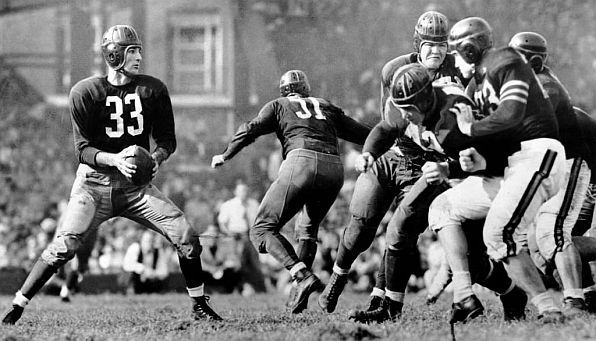 Redskins' QB Sammy Baugh
