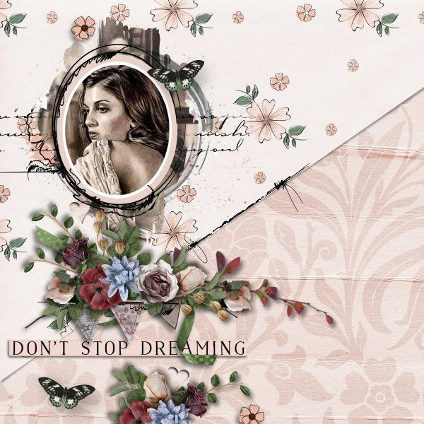 Kit A Woman Like You by Valentina Creations. Template A Little Bit Arty #9 by Heartstrings Scrap Art.