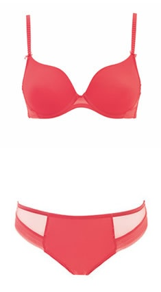 Ernest Bra by Marie Jo, a clean, pure style in a funky colour making it a very stylish basic!