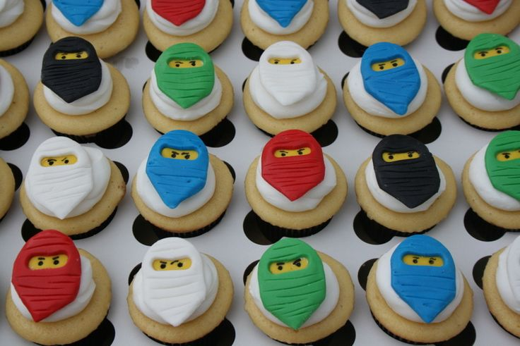 Ninjago Fondant Cupcake Toppers | by Creative and Tasty Treats (Sandy) 305-218-8603