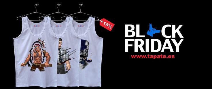 Aprovecha los grandes descuentos-www.tapate.es #blackfriday #rebajas #ropa #online #sudaderas #camisetas #hombre #gay #descuentos #madrid #tapate