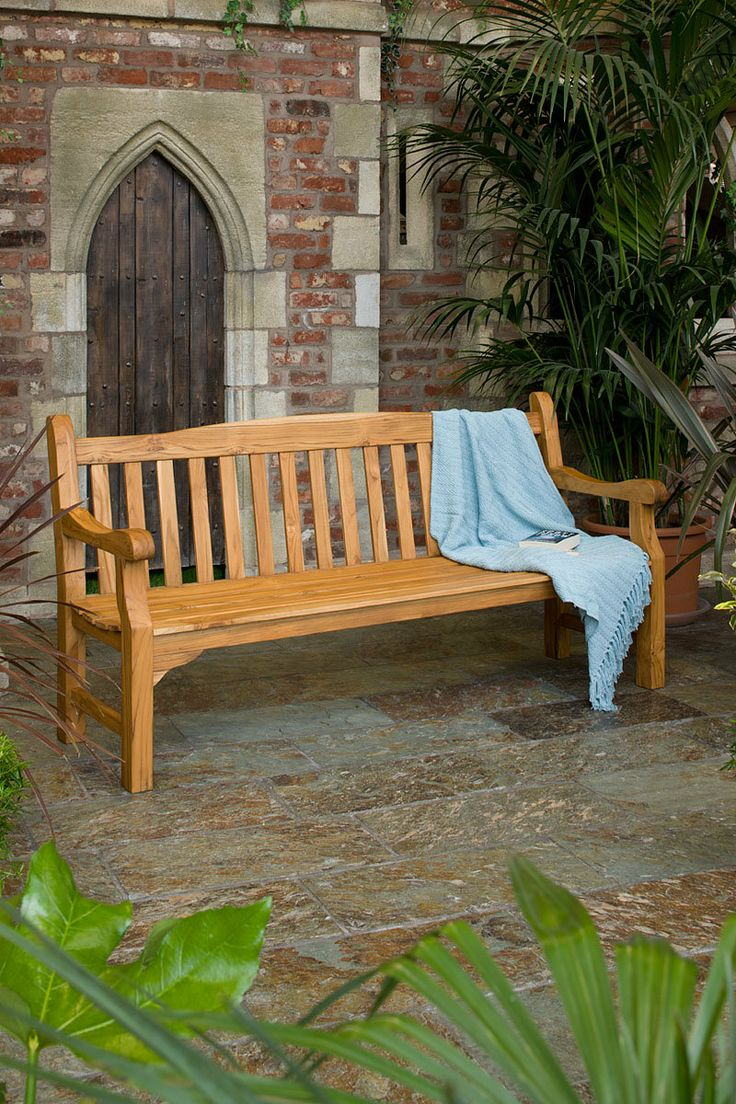 at hayes garden world we stock a huge range of quality garden furniture including the kingston solid teak fsc garden bench buy online today from hayes. beautiful ideas. Home Design Ideas