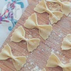 Recipe photo: Homemade semolina pasta dough