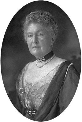 Caroline Lane Brown (née Lamson) 59, was born 8 July 1852, New York. Mrs Brown boarded the Titanic at Southampton as a first class passenger  accompanied by her sisters Mrs R. C. Cornell & Mrs E. D. Appleton. They were returning to America having attended a family funeral in England.  During the voyage they were joined by Miss Edith Corse Evans. 2nd Officer  Lightoller guided Mrs Brown & Miss Evans to a lifeboat. Brown stepped into the boat but Evans faltered & the boat left without her