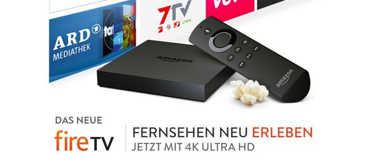 4K Ultra-HD: Amazon Fire TV kaufen - https://apfeleimer.de/2015/10/4k-ultra-hd-amazon-fire-tv-kaufen - Amazon Fire TV mit 4K Video (Ultra HD) jetzt verfügbar, sofort lieferbar. Apple verzichtet beim neuen Apple TV (leider) auf 4K Ultra-HD Video, die Konkurrenz bei Amazon setzt dagegen beim neuen Amazon Fire TV auf Integration von 4K Video Inhalten. Ab sofort ist das neue Amazon Fire TV nicht nur ...