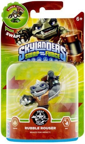 Skylanders: Swap Force: RUBBLE ROUSER Swap-able Individual Character Pack
