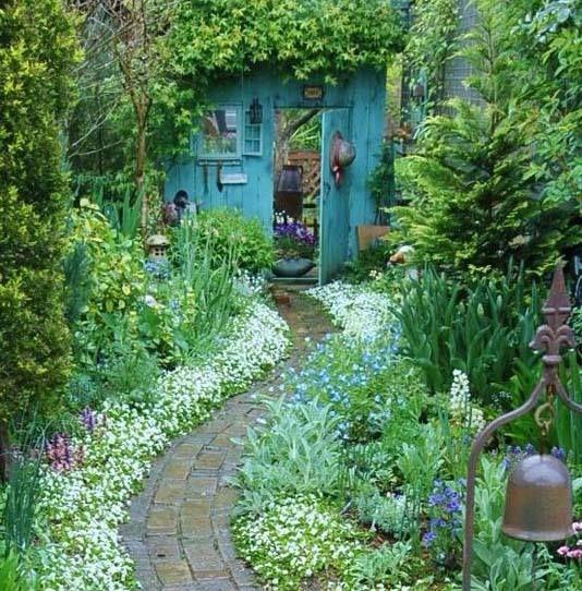 A Shady Spot in the Garden