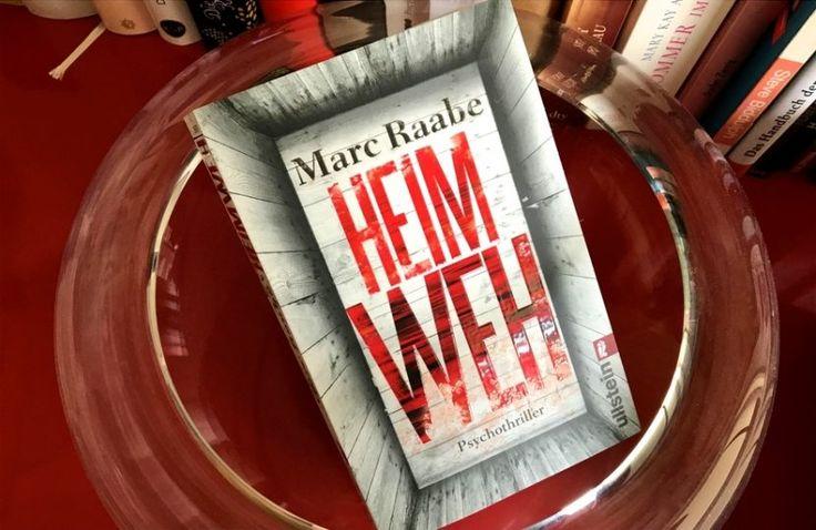 """""""Heimweh"""" ist das neue Buch des Kölner Autors Marc Raabe, ein spannender Psychothriller über einen Arzt, den seine Vergangenheit einholt. Nervenaufreibend!"""