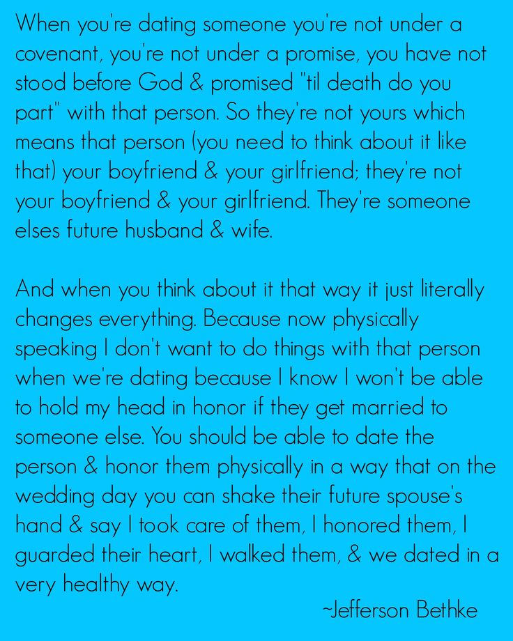 Jefferson Bethke quote from his YouTube video: How Far is To Far To Go When Dating?