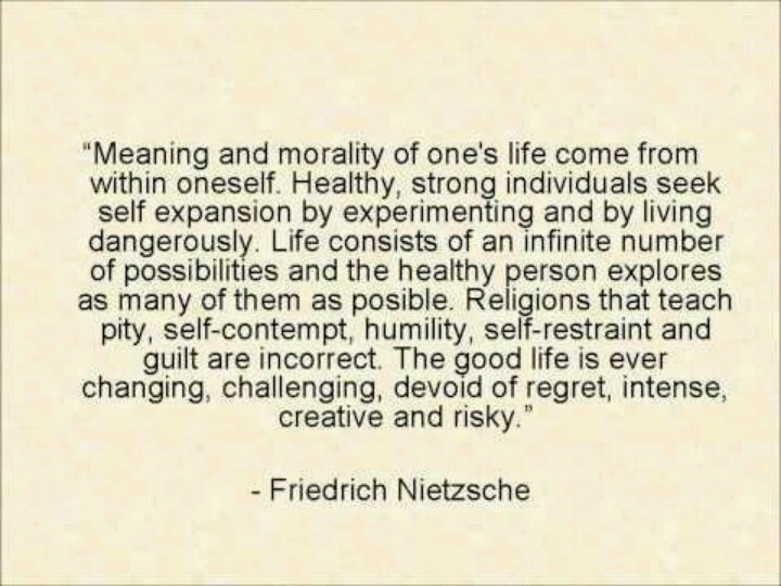 fredriech nietzches existentialism essay Nietzsche essays bartleby existentialism thinkers who coined the phrase god is dead   friedrich nietzsche on  in the first essay,.