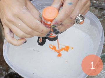 DIY Craft Working With Plaster