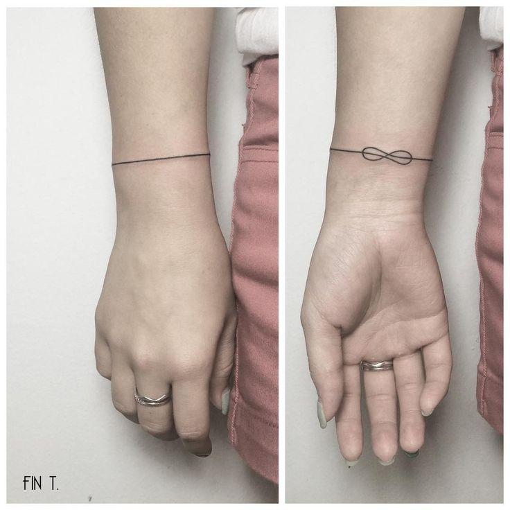 Les 25 meilleures id es concernant tatouage bracelet poignet sur pinterest tatouages bracelet - Idee tatouage poignet ...
