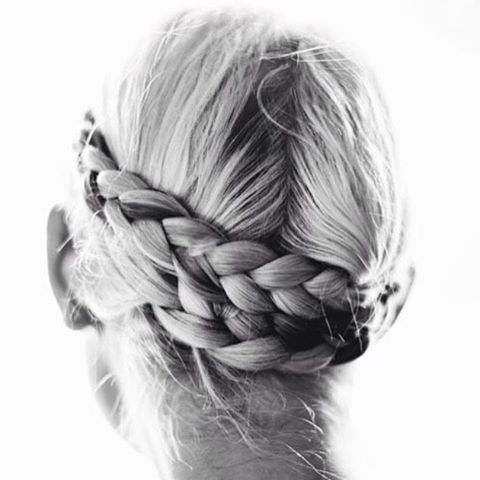 How beautiful #braids #beauty #lifestyle #living #interior credit: @marysiaswim