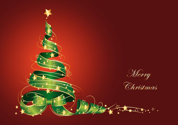 merry christmas tree vector other wallpaper Wallpaper