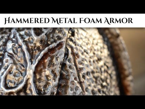 Prop: Shop – Hammered Metal Foam Armor | Punished Props