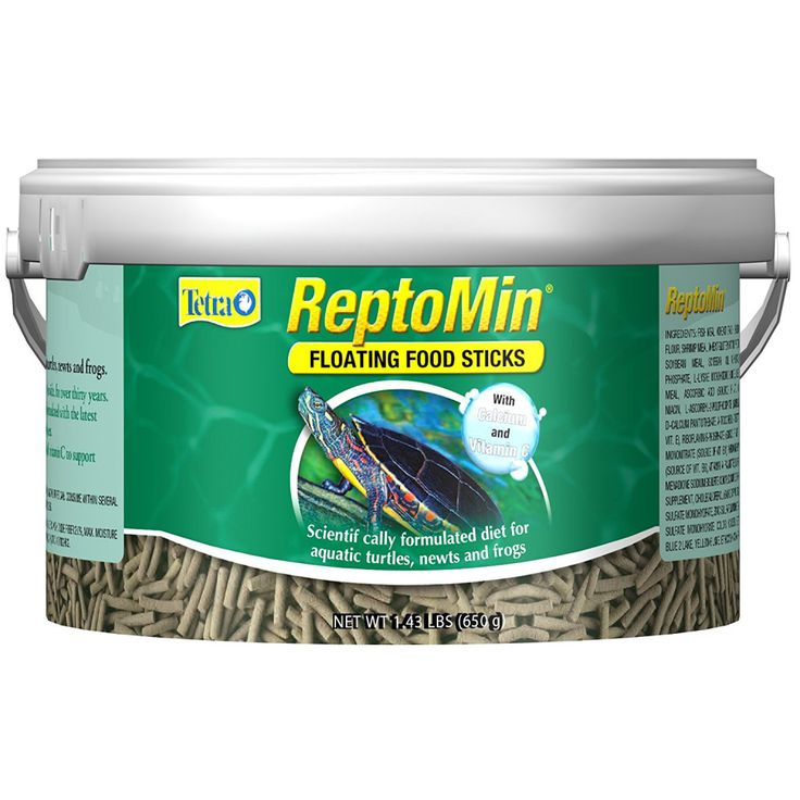 Tetra ReptoMin Floating Food Sticks Turtle Aquatic Frog Reptile Supply Pet Fish
