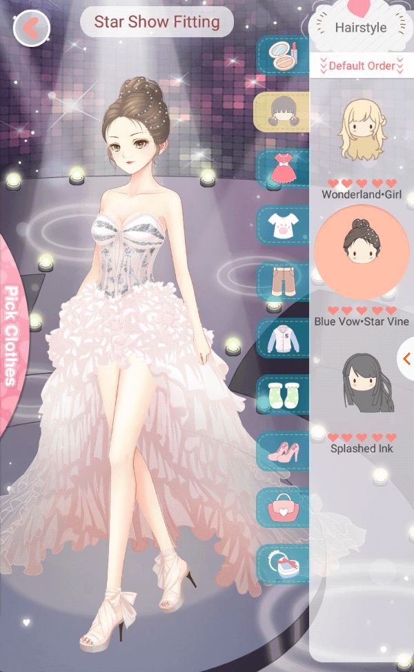 #Dressupdiary Star Show