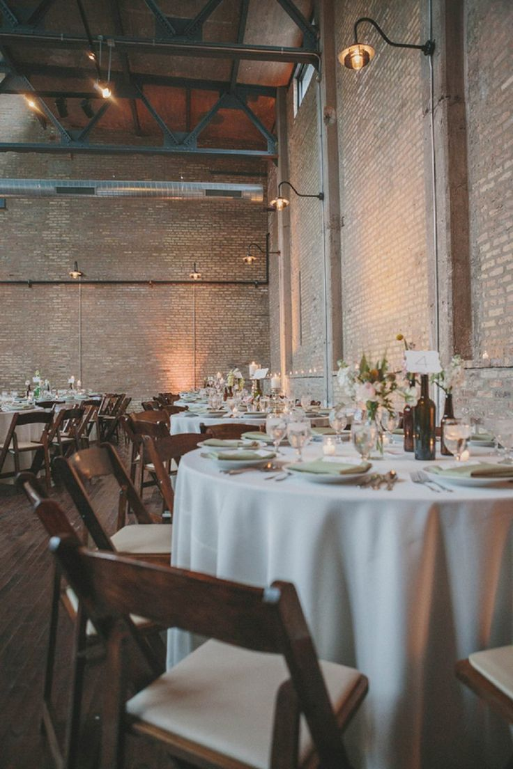 Wedding doors for rent - Pink And White Industrial Chic Chicago Wedding